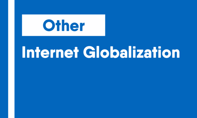 Internet Globalization