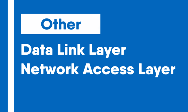 Data Link Layer/Network Access Layer