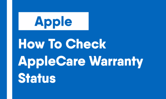 How To Check AppleCare Warranty Status
