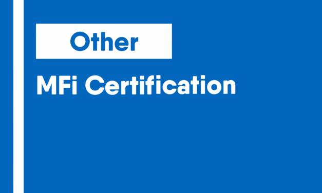 MFi Certification
