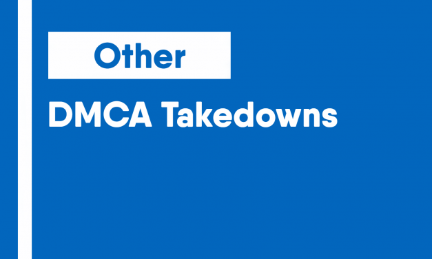 DMCA Takedowns