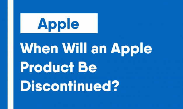 When Will an Apple Product Be Discontinued?