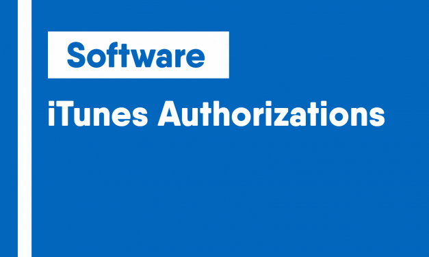 iTunes Authorizations