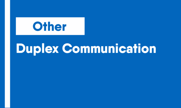 Duplex Communication