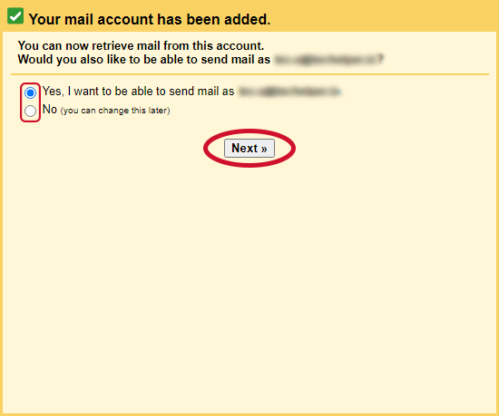 gmail check other emails step 8